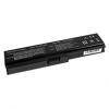 utángyártott Toshiba Satellite L655-S5062, L655-S5065 Laptop akkumulátor - 4400mAh