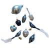 Üvegkarácsonyfadíszek Froozen 12db figura