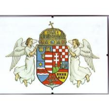 Üveglapos falikép, angyalos 21X30 cm ajándéktárgy