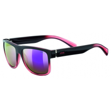 Uvex LGL 21 Black Rose-Mirror Pink S3