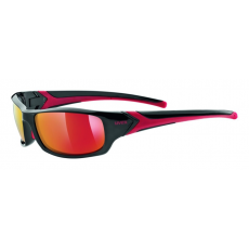 Uvex Sportstyle 211 Black Red-Mirror Red S3