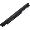 V550 Ultrabook 2200 mAh 4 cella fekete notebook/laptop akku/akkumulátor utángyártott