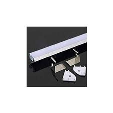 V-tac Aluminium profil LED szalaghoz (3356) Matt villanyszerelés