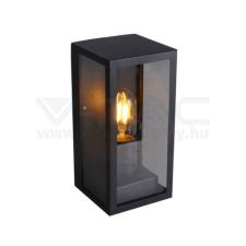 V-tac E27 fali lámpatest - fekete - 8517 kültéri világítás