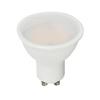 V-tac GU10 LED lámpa 5 Watt (110°) PRO - Opál hideg fehér
