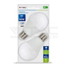 V-tac Led lámpa csomag (2db) E27 9W A60 (3 IN 1 SZÍNHŐMÉRSÉKLET) - 7309 világítás