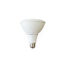 V-tac LED lámpa E27 (15W/30°) PAR38 - zöld (IP65) izzó