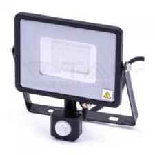 V-tac Led mozgásérzékelős reflektor 30W SAMSUNG chip - fekete - 3000K - 460 kültéri világítás