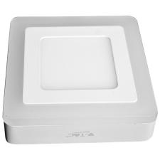 V-TAC Twin mennyezeti, szögletes LED panel 22W - meleg fehér - 4928 világítás