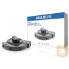 Valueline Digitális Audio Kapcsoló 3x TosLink Aljzat - Toslink Aljzat Fekete