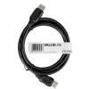 Valueline High Speed HDMI™ kábel, Ethernet HDMI™ - HDMI™ 0.5M fekete