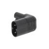Valueline Tápcsatlakozó Aljzat / Dugasz PVC Fekete Valueline vlep11912b