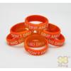 Vape Band Orange Don't Drip and Drive