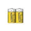 Varta 2014 - 2 db cink-szén elem SUPERLIFE C 1,5V