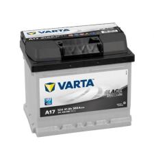 Varta Black Dynamic akkumulátor 12v 41ah jobb+ autó akkumulátor