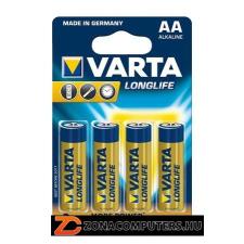 "Varta Elem, AA ceruza, 4 db, VARTA ""Longlife"" (VELEAA4) ceruzaelem"
