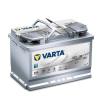 Varta Varta Silver Dynamic AGM 70ah 760A Jobb+ autó akkumulátor