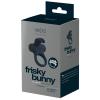 VeDO VeDO Frisky - akkus, nyuszis, vibrációs péniszgyűrű (fekete)