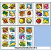 Vegetables (Zöldségek) Angol nyelvű TanulóKártya Csomag - 178db-os készlet