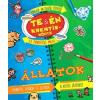 Ventus Libro Kiadó Te & én kreatívkönyv - Állatok