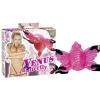 Vénus pillangó - felcsatolható csikló vibrátor