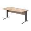 Vénusz irodabútor AVA fémlábas íróasztalok IS-120/80-AVA fémlábas íróasztal 120 x 80 cm-e méretben