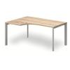 """Vénusz TREND fémlábas asztalok GA-160/120-B-TR """"L"""" alakú operatív íróasztal Trend fémlábbal balos kivitelben 160x x120 cm-es méretben"""