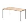 Vénusz TREND fémlábas asztalok GN-160/100-B-TR Operatív íróasztal Trend fémlábbal balos kivitelben 160x x100 cm-es méretben