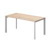 Vénusz TREND fémlábas asztalok IS-140/80-TR Vénusz irodabútor TREND fémlábas íróasztal 140 x 80 cm-es méretben