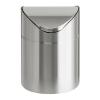 VEPA BINS Billenős szemetes, 2 l, rozsdamentes acél, asztali, VEPA BINS, ezüst