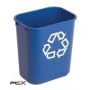VEPA BINS Szelektív hulladékgyûjtõ, mûanyag, 27 l, VEPA BINS, kék