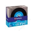 Verbatim CD-R lemez, bakelit lemez-szerű felület, AZO, 700MB, 52x, vékony tok, VERBATIM Vinyl (CDV7052V10VIN)