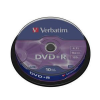 Verbatim DVD+R 4,7 GB x16 Cakebox x100