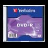 Verbatim DVD+R lemez 4,7 GB 16x, vékony tok AZO