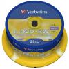 Verbatim DVD-RW 4x 25db hengeres