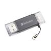 "Verbatim Pendrive, 64GB, USB 3.0, Lightning csatlakozó, VERBATIM ""Lightning"" grafit szürke"