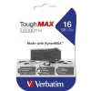 "Verbatim Pendrive, extra ellenálló, 16GB, USB 2.0, VERBATIM ""ToughMAX"", fekete"