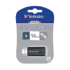 """Verbatim USB drive Verbatim USB 2.0 16GB 10/4 MB/s """"PinStripe"""" 49063"""