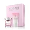 Versace Bright Crystal női parfüm set (eau de toilette) Edt 30ml+50ml Testápoló