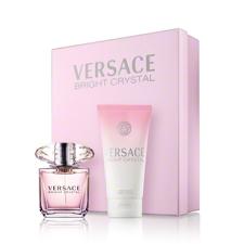 Versace Bright Crystal női parfüm set (eau de toilette) Edt 30ml+50ml Testápoló testápoló