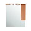 Vertex Bianca Plus 85 fürdőszoba bútor felsőszekrény, aida dió színben, jobbos nyitásirány