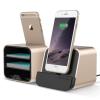 VERUS New i-Depot asztali dokkoló, hálózati töltő iPhone 5, 6, iOS kompatibilis, arany