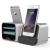 VERUS VRS Design (VERUS) New i-Depot asztali dokkoló, hálózati töltő iPhone 5/5S/SE, 6, iOS kompatibilis, ezüst
