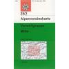 Verwallgruppe, Mitte turistatérkép - Alpenvereinskarte 28/2