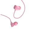 Vezetékes sztereó fülhallgató, 3.5 mm, felvevőgombos, Remax Candy, RM-502, rózsaszín