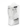 Vezetékes sztereó fülhallgató, 3.5 mm, felvevőgombos, Remax Candy, RM-505, fehér