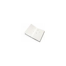 VICTORIA Aláírókönyv, A4, 20 részes, karton, műbőr hatású borító, VICTORIA, fekete aláírókönyv