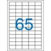 VICTORIA Etikett, univerzális, 38x21,2 mm, VICTORIA, 6500 etikett/csomag [100 lap]