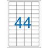VICTORIA Etikett, univerzális, 48,5x25,4 mm, VICTORIA, 4400 etikett/csomag [100 lap]