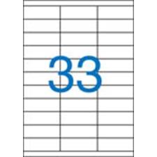 VICTORIA Etikett, univerzális, 70x25,4 mm, VICTORIA, 3300 etikett/csomag etikett